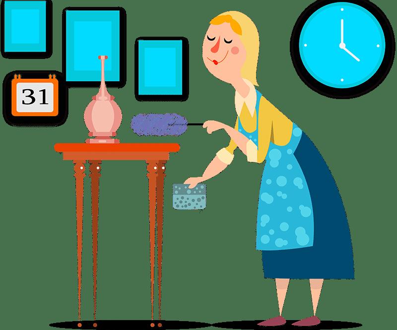 رزرو آنلاین نظافتچی ، خدمات نظافت منزل ، نظافت مشاعات ، نظافت محل کار ، کلینکس